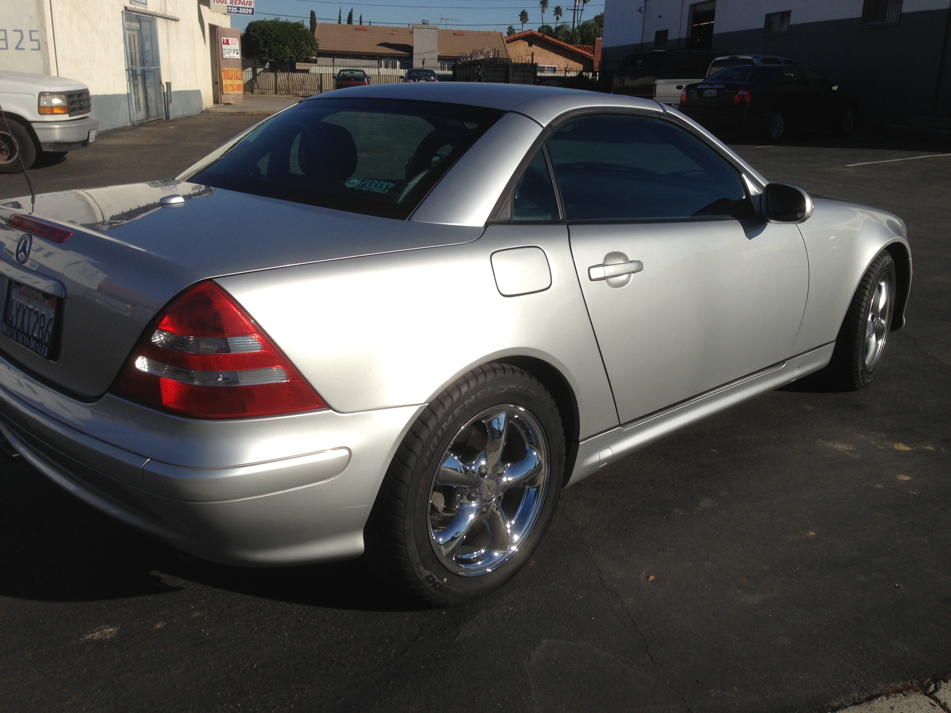 Mercedes benz after repairs fields auto body shop for Mercedes benz auto body